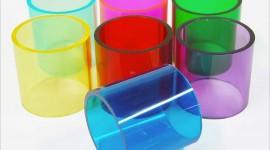 Colorful Tubes Desktop Wallpaper