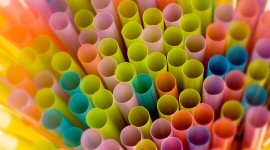 Colorful Tubes Wallpaper