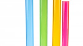 Colorful Tubes Wallpaper For Android