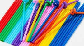 Colorful Tubes Wallpaper Free