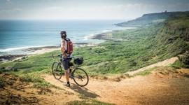 Cycling Trip Desktop Wallpaper