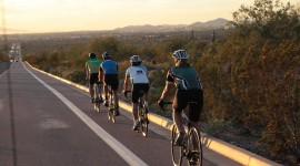 Cycling Trip Desktop Wallpaper HQ