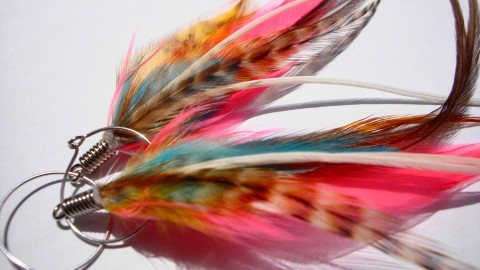 Feather Earrings wallpapers high quality