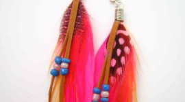 Feather Earrings Wallpaper For Android#2