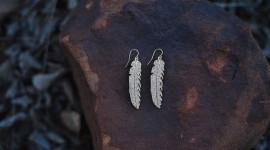 Feather Earrings Wallpaper Gallery