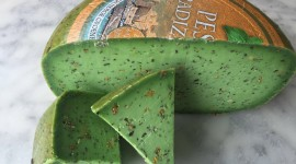 Green Cheese Photo