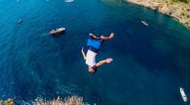 Jump Off A Cliff Wallpaper 1080p