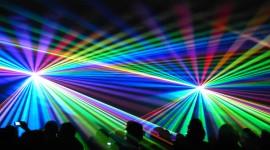 Laser Show Desktop Wallpaper For PC