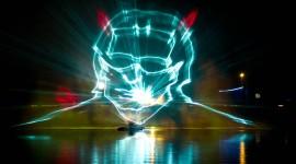 Laser Show Wallpaper