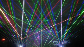 Laser Show Wallpaper Full HD