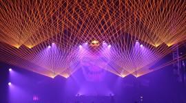 Laser Show Wallpaper HQ