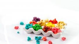 Multi Colored Popcorn Image