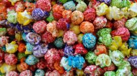 Multi Colored Popcorn Wallpaper Download