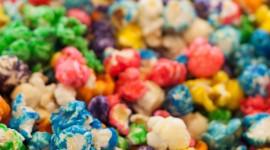 Multi Colored Popcorn Wallpaper For Mobile