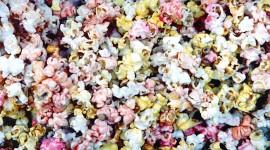 Multi Colored Popcorn Wallpaper Free