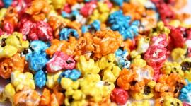 Multi Colored Popcorn Wallpaper Gallery