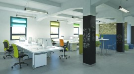 Open Space Office High Quality Wallpaper