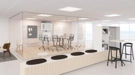 Open Space Office Wallpaper Free
