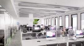 Open Space Office Wallpaper HD