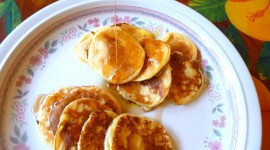 Pancakes With Cottage Cheese Desktop Wallpaper
