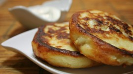 Pancakes With Cottage Cheese Wallpaper Download Free