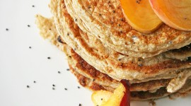Pancakes With Cottage Cheese Wallpaper For IPhone