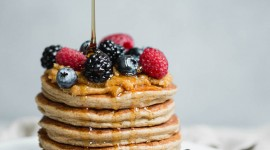 Pancakes With Cottage Cheese Wallpaper For IPhone Free