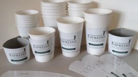 Paper Cups Desktop Wallpaper