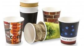 Paper Cups Desktop Wallpaper Free