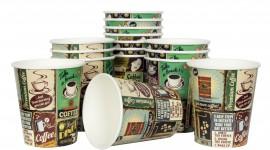 Paper Cups Desktop Wallpaper HD