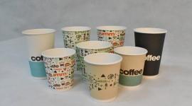 Paper Cups Wallpaper
