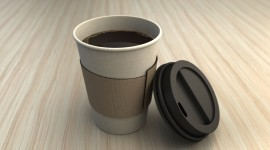 Paper Cups Wallpaper Background
