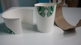 Paper Cups Wallpaper Download Free