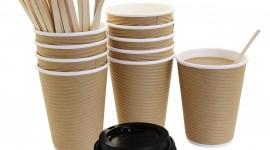 Paper Cups Wallpaper For Desktop