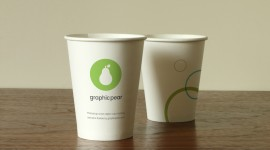 Paper Cups Wallpaper For PC
