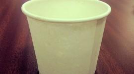 Paper Cups Wallpaper HQ