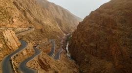 Serpentine Road Wallpaper HD