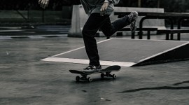 Skateboard Foot Aircraft Picture