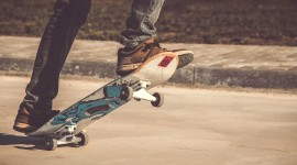 Skateboard Foot Image Download