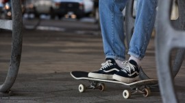 Skateboard Foot Photo Free