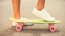 Skateboard Foot Wallpaper