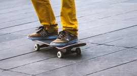 Skateboard Foot Wallpaper Full HD