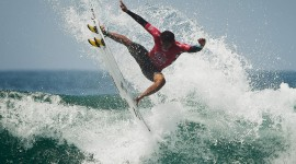Surfing In South America Desktop Wallpaper Free