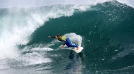 Surfing In South America High Quality Wallpaper