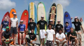 Surfing In South America Wallpaper Download