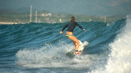 Surfing In South America Wallpaper For PC