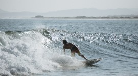 Surfing In South America Wallpaper Free