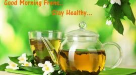 Tea Good Morning Desktop Wallpaper For PC