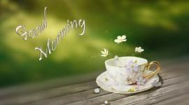 Tea Good Morning Wallpaper