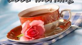 Tea Good Morning Wallpaper For PC